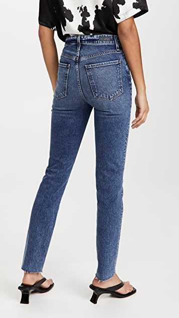 Le Jean High Rise Lara Slim Jeans