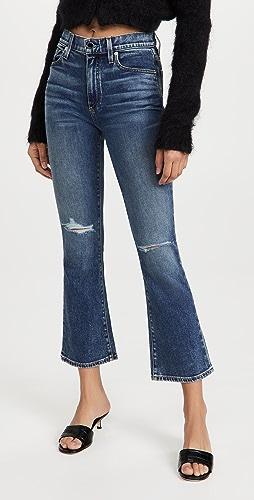 Le Jean - Bella Crop Flare Jeans