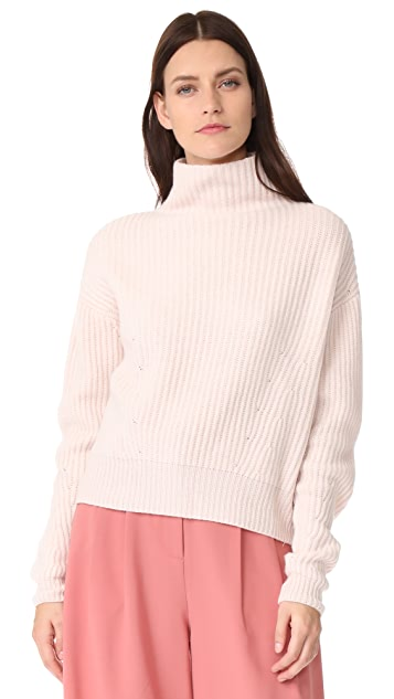 Le Kasha Mock Neck Cashmere Sweater