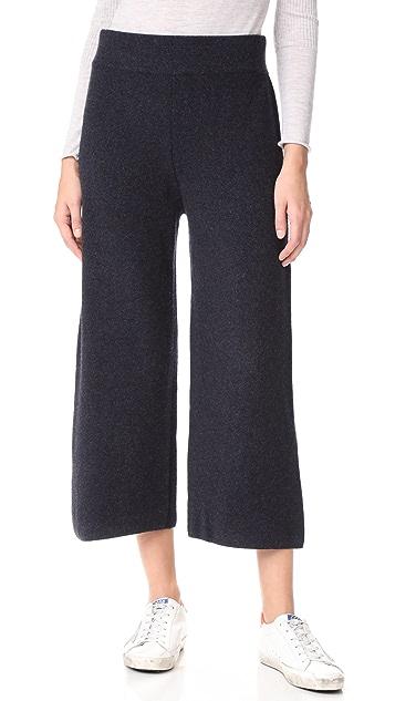 Le Kasha Cashmere Flare Pants