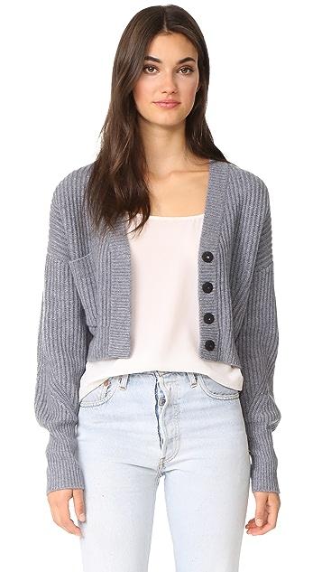 Le Kasha Cropped Cashmere Cardigan