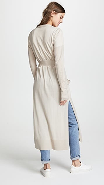 Le Kasha Delhi Wrap Cashmere Cardigan