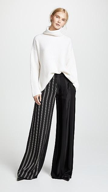 Le Kasha Lisbon Turtleneck Cashmere Sweater