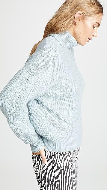 Le Kasha Pontavin 绞花针织毛衣