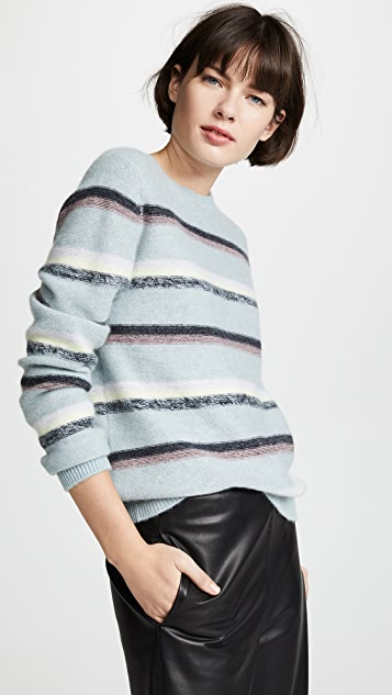 Le Kasha Кашемировый свитер Toucques в полоску