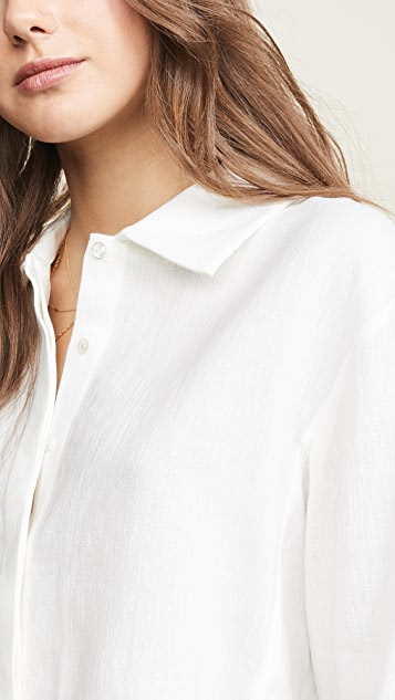 Le Kasha Tanger Button Down Shirt