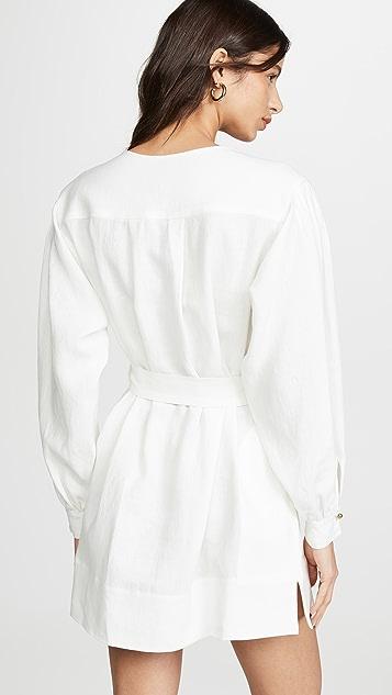Le Kasha Byblos Tie Waist Dress