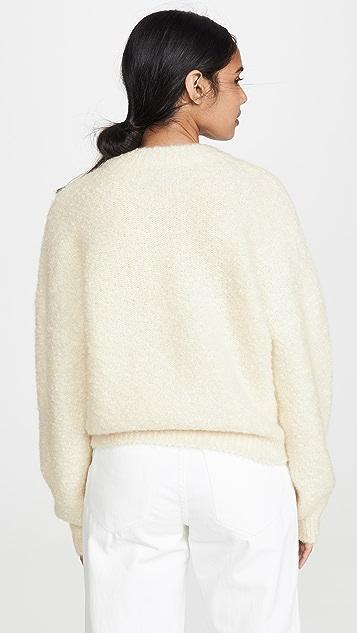 Le Kasha Baden 毛绒开司米羊绒毛衣