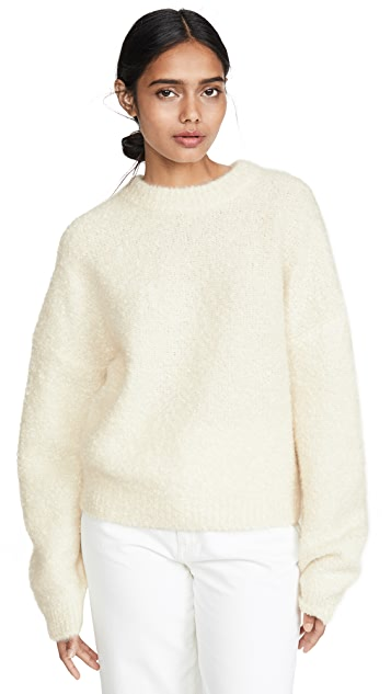 Le Kasha Baden Fuzzy Cashmere Sweater