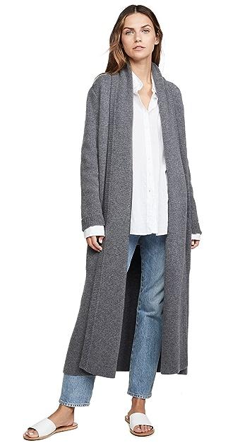 Le Kasha Long Cashmere Sweater Coat