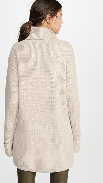 Le Kasha Turtleneck Comfy Cashmere Sweater