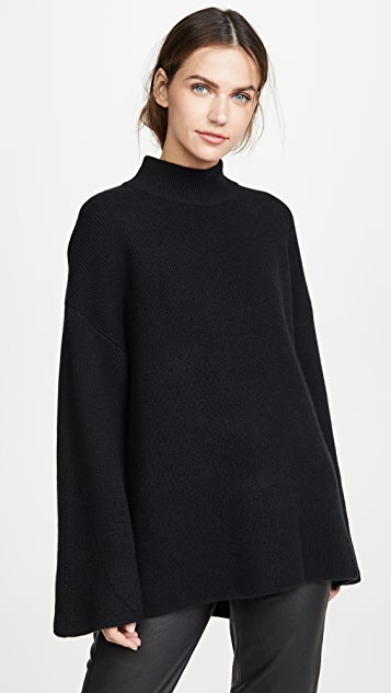 Le Kasha Milana Turtleneck Cashmere Sweater