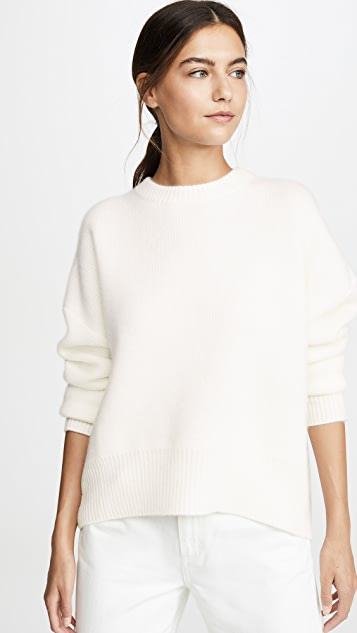Le Kasha Crew Neck Cashmere Sweater