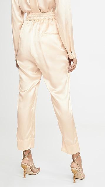 Le Kasha Tie Waist Trousers