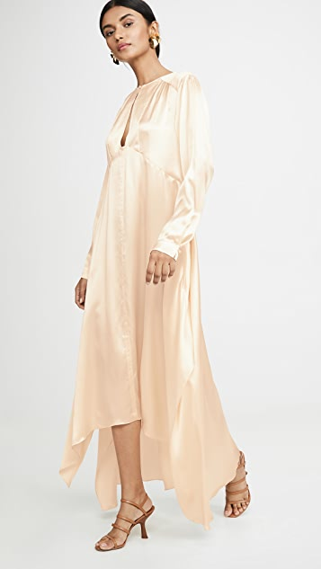 Le Kasha Long Sleeve Dress