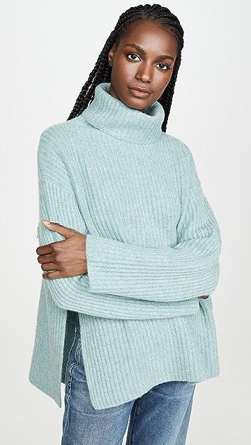 Le Kasha Объемный кашемировый свитер