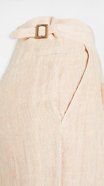 Le Kasha Sohag Organic Light Linen Trousers