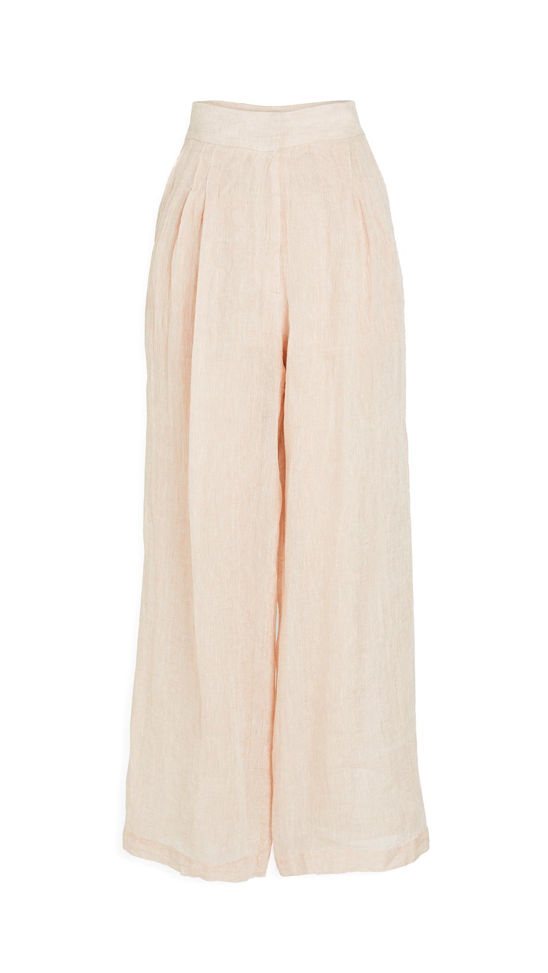 Le Kasha Sohag Light Linen Trousers
