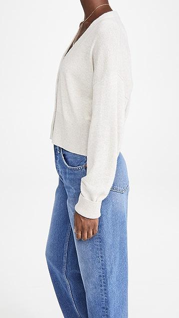 Le Kasha Sydney 开司米羊绒开襟衫