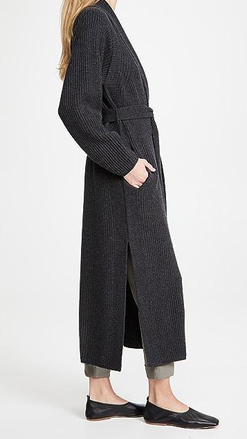 Le Kasha Valencia Long Cashmere Cardigan