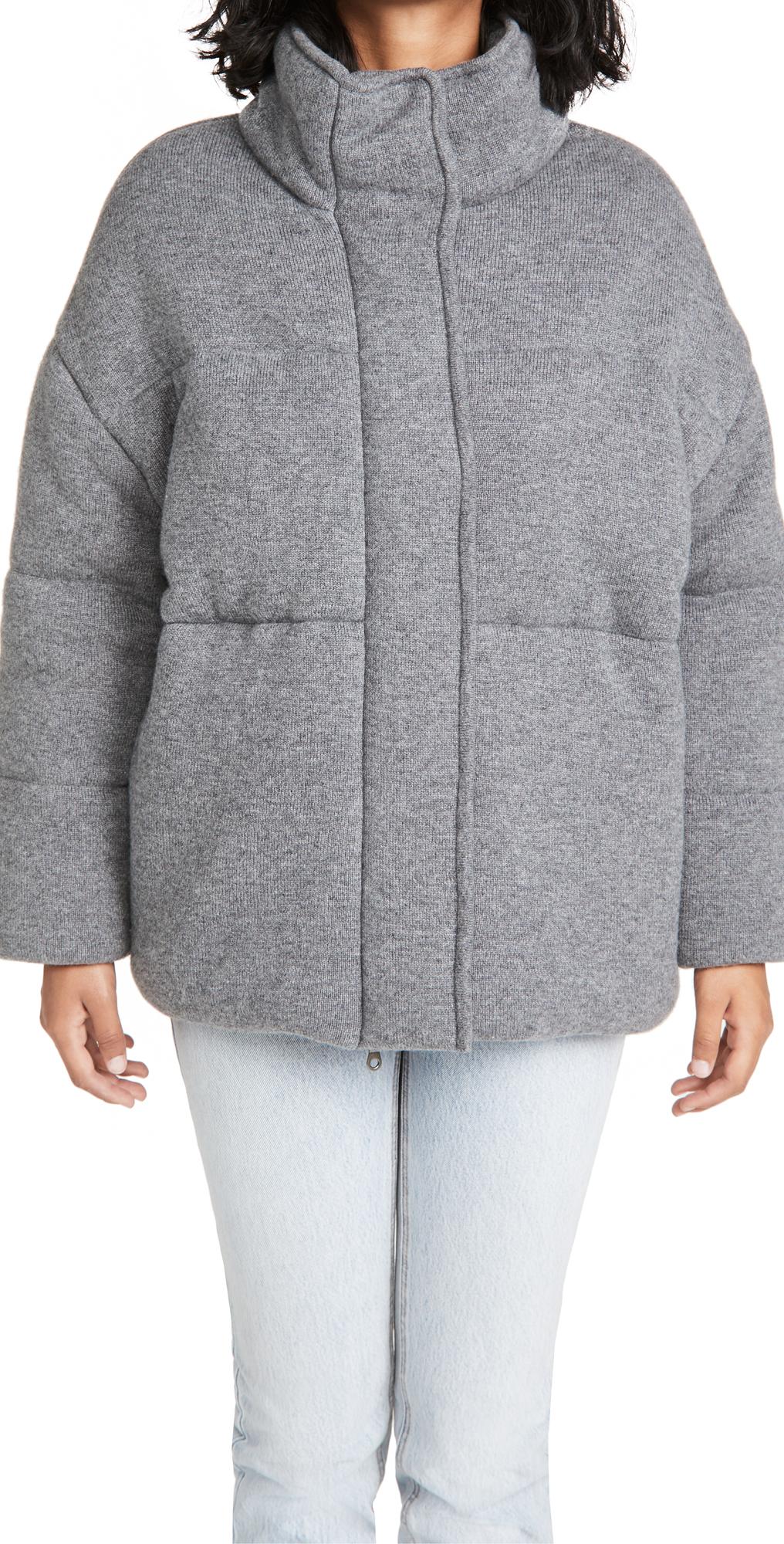 Dillon Cashmere Puffer Jacket