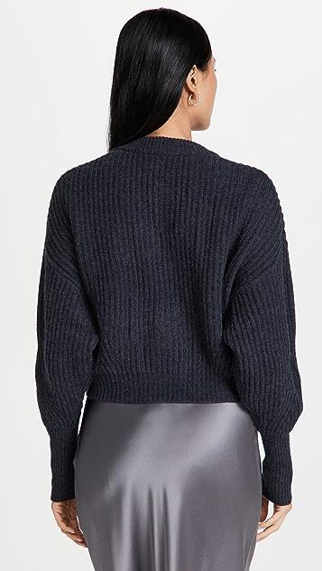 Le Kasha Monaco 开司米羊绒开襟衫