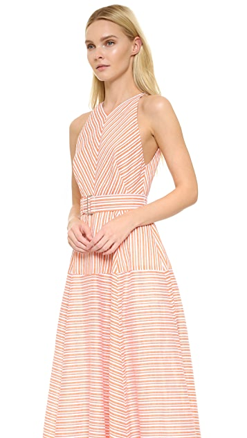 Lela Rose Striped Gown