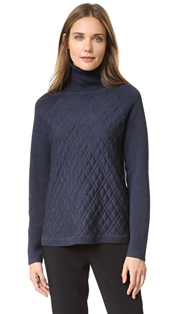 Lela Rose Turtleneck Pullover