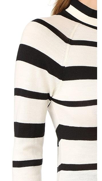 Lela Rose Long Sleeve Sweater