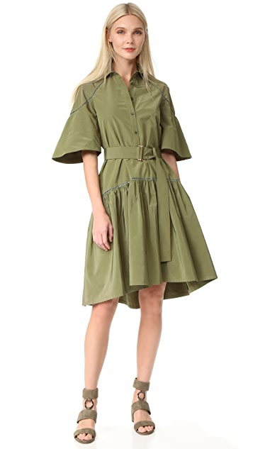 Lela Rose Shirtdress