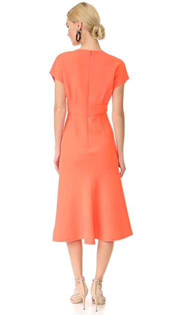 Lela Rose Bell Skirt Dress