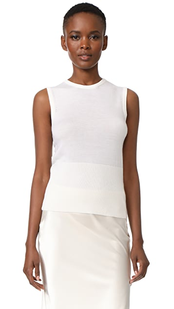 Lela Rose Sleeveless Knit Top