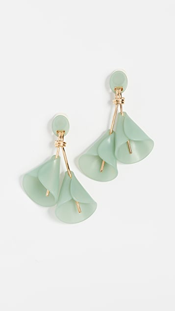earrings grande drop lily calla sterling bisous freshwater in products little pearls with silver
