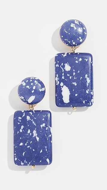 Lele Sadoughi Keepsake Stone Earrings WIPGNCX