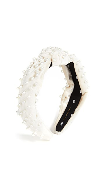 Lele Sadoughi Imitation Pearl Headband