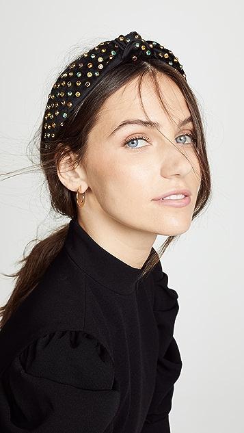 Lele Sadoughi Multicolor Crystal Headband
