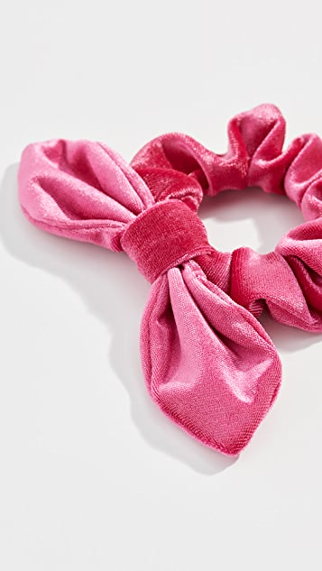 Lele Sadoughi Velvet Scrunchie