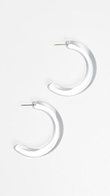 Lele Sadoughi Broadway Hoop Earrings