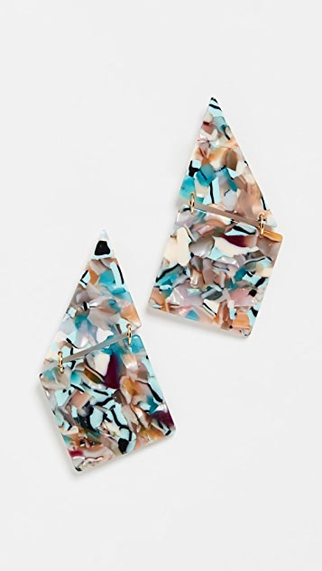 Lele Sadoughi Shingle Earrings
