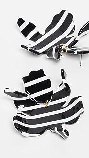 Lele Sadoughi Paperlily Earrings