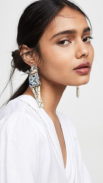 Lele Sadoughi Memphis Chandelier Earrings