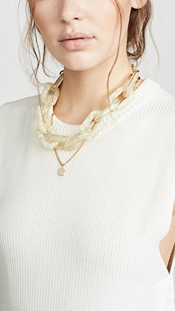 Lele Sadoughi Chain Garland Necklace