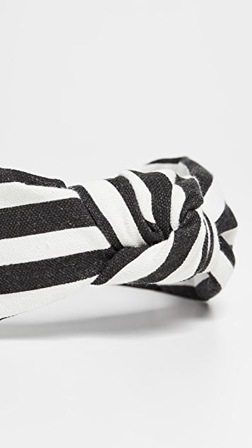 Lele Sadoughi Striped Headband