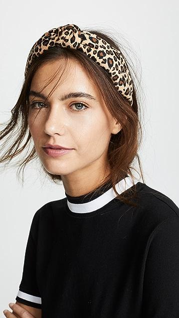Lele Sadoughi Velvet Headband