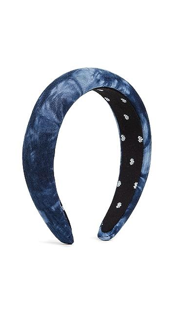 Lele Sadoughi Tie Dye Padded Headband