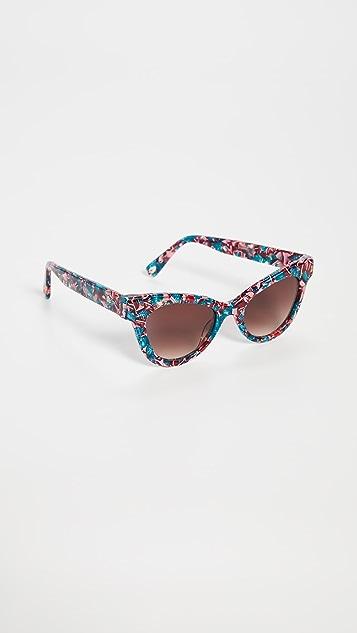Lele Sadoughi Uptown Cateye Sunglasses
