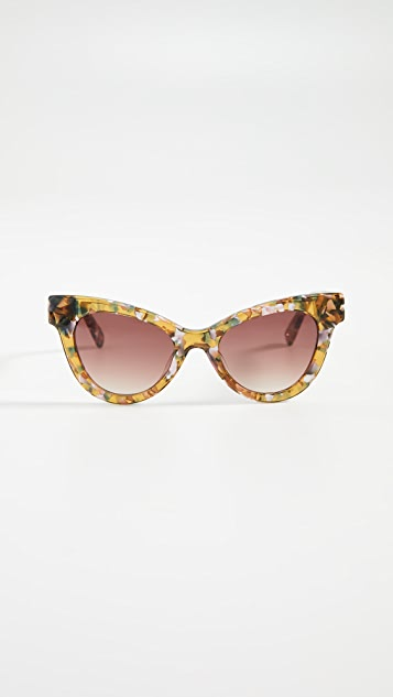 Uptown Cateye Sunglasses by Lele Sadoughi