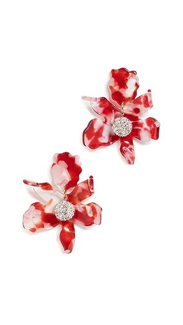 Lele Sadoughi Серьги-гвоздики Lilly с маленькими кристаллами