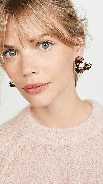Lele Sadoughi Trillium Stud Earrings