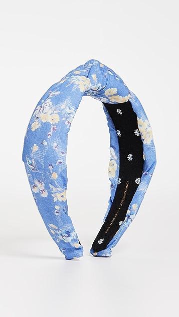 Lele Sadoughi x Loveshackfancy Knotted Headband